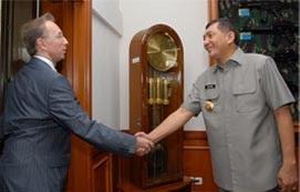 Wamenhan dan Dubes Baru Rusia
