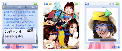 韓國女團Kara SonyEricsson手機主題for Elm/Hazel/Yari/W20﹝240x320﹞