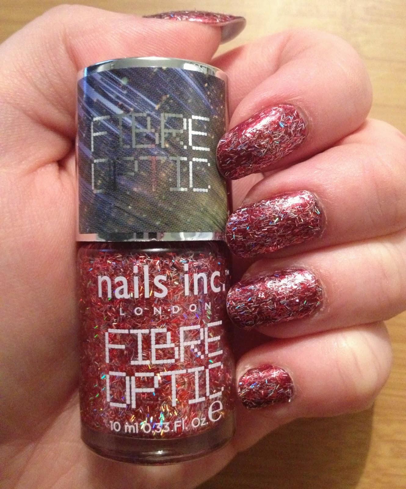 Nails Inc Fibre Optic Nail Polish Belgravia Place