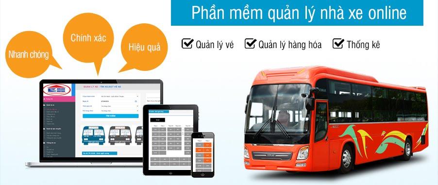 Phần mềm quản lý nhà xe online