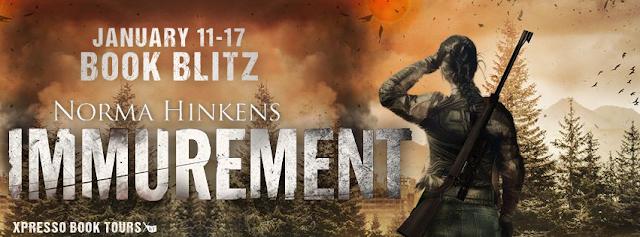 BOOK BLITZ - Immurement by Norma Hinkens + Excerpt + Giveaway
