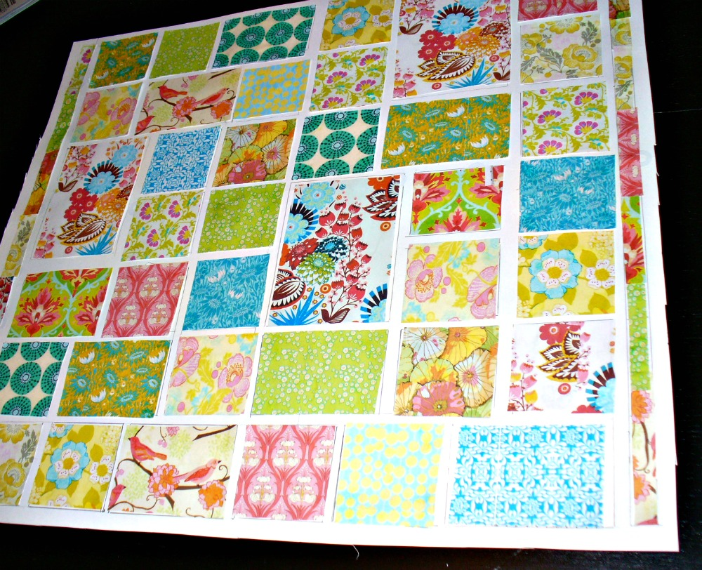 alimakes: Ali makes her first big quilt: Part One (loulouthi tiles)