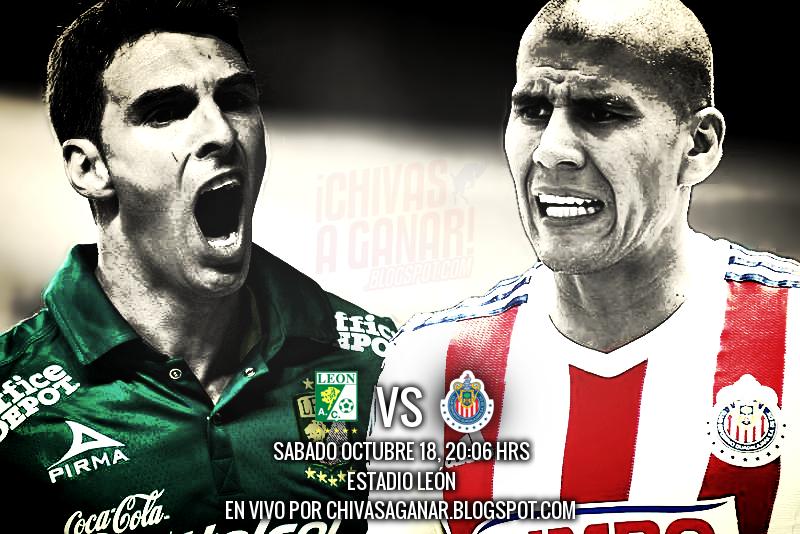 Club León vs Club Deportivo Guadalajara - Jornada 13 Apertura 2014.
