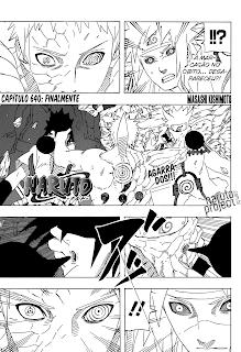 Naruto 640 Português Mangá leitura online