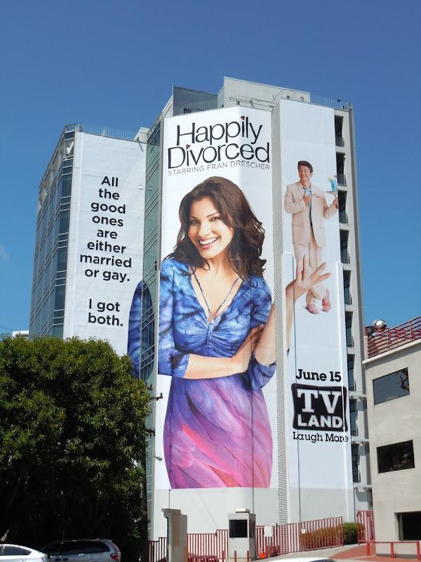Happily Divorced season 1 billboard