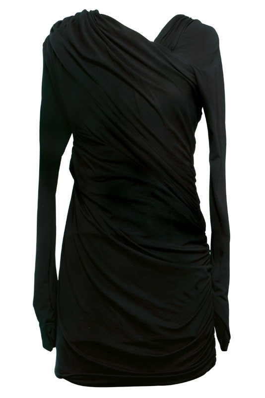 Ruched Long Sleeve Dress CLICK HERE TO BUY