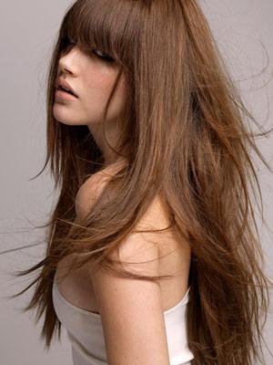 long hair styles - كيف تجعلين شعرك يظهر أكثر طولا