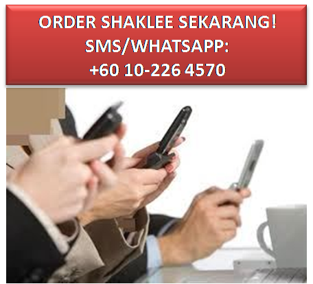 Order Shaklee Sekarang!