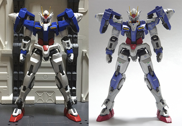gundam model kit bandai real grade 00 raiser