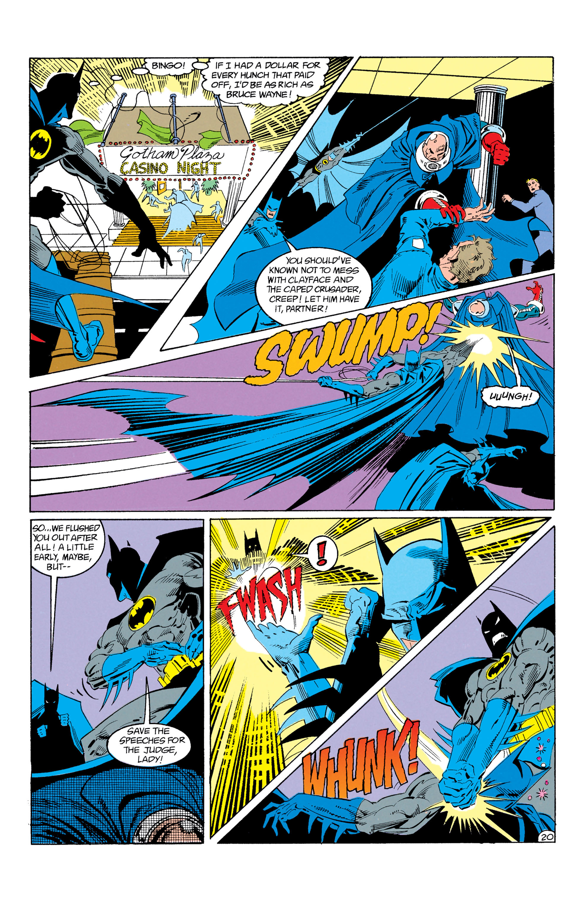 Detective Comics (1937) Issue #605 Page 21