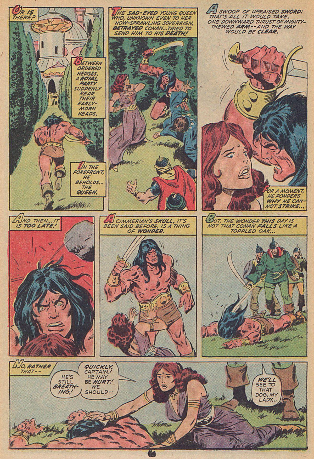 Conan the Barbarian (1970) Issue #25 #37 - English 11