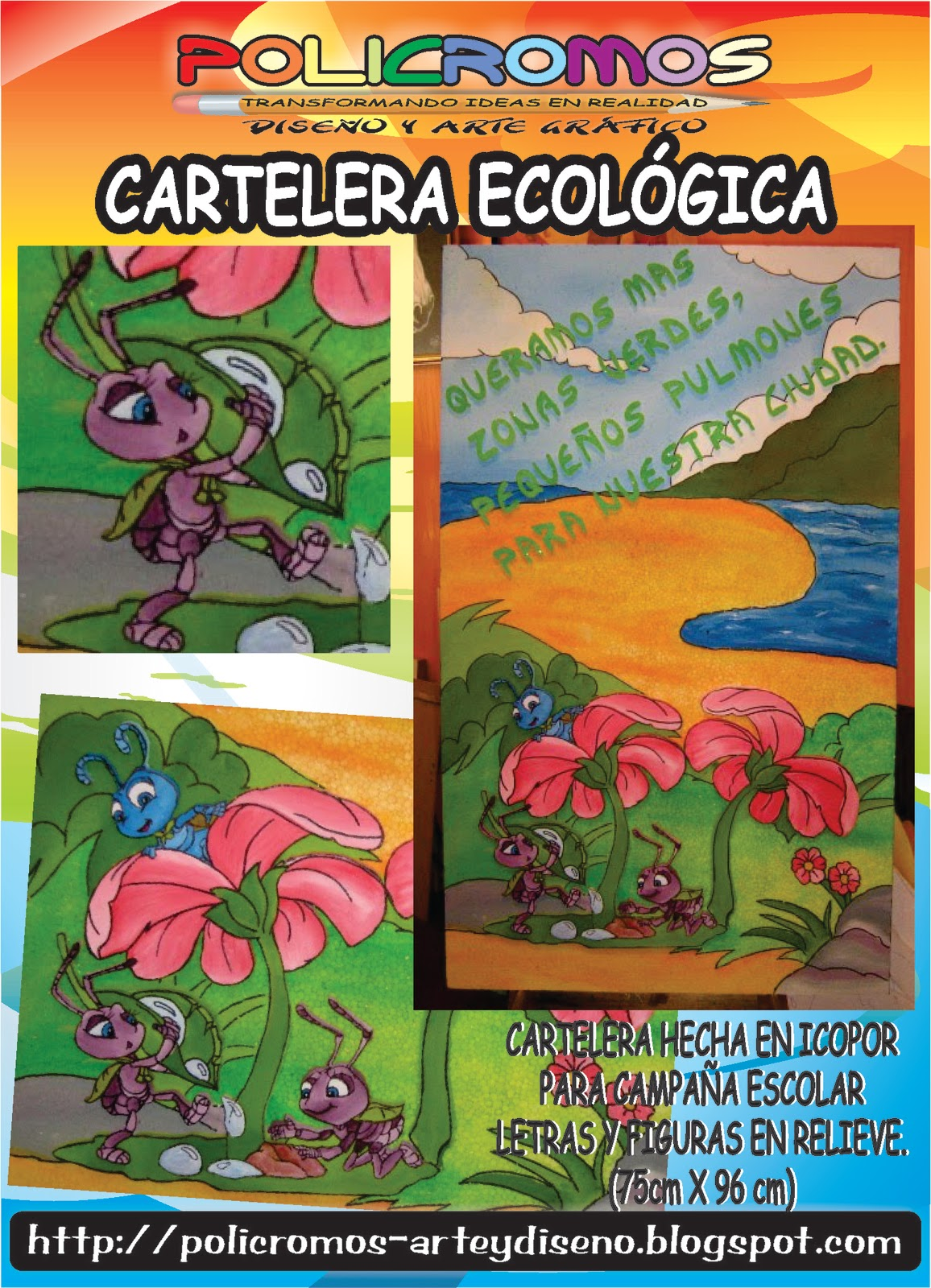 CARTELERAS ESPECIALES EN ICOPOR
