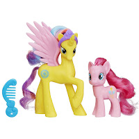 Princess Gold Lily & Pinkie Pie