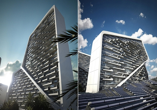 Sustainable &#8216;Vertical Village&#8217;, Dubai