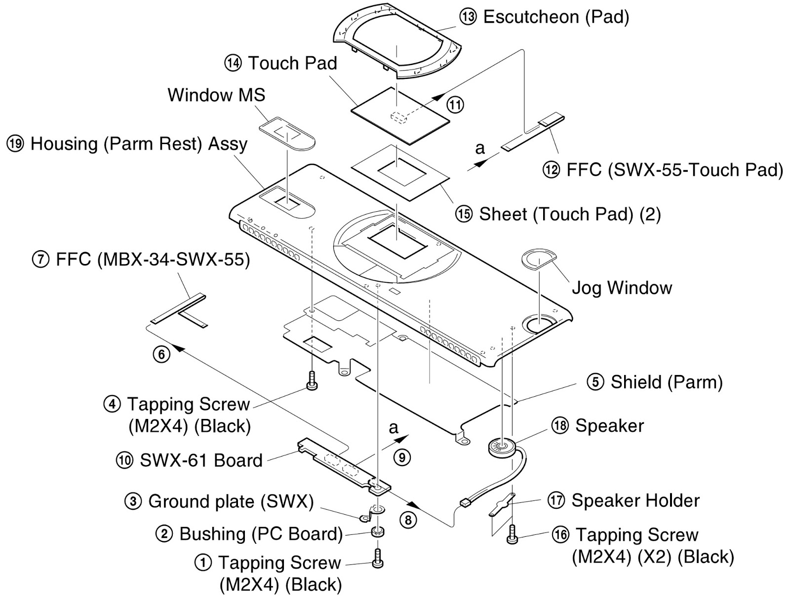 how to disassemble sony vaio pcg-sr27