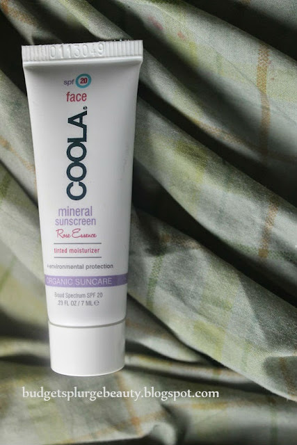 coola tinted moisturizer sample