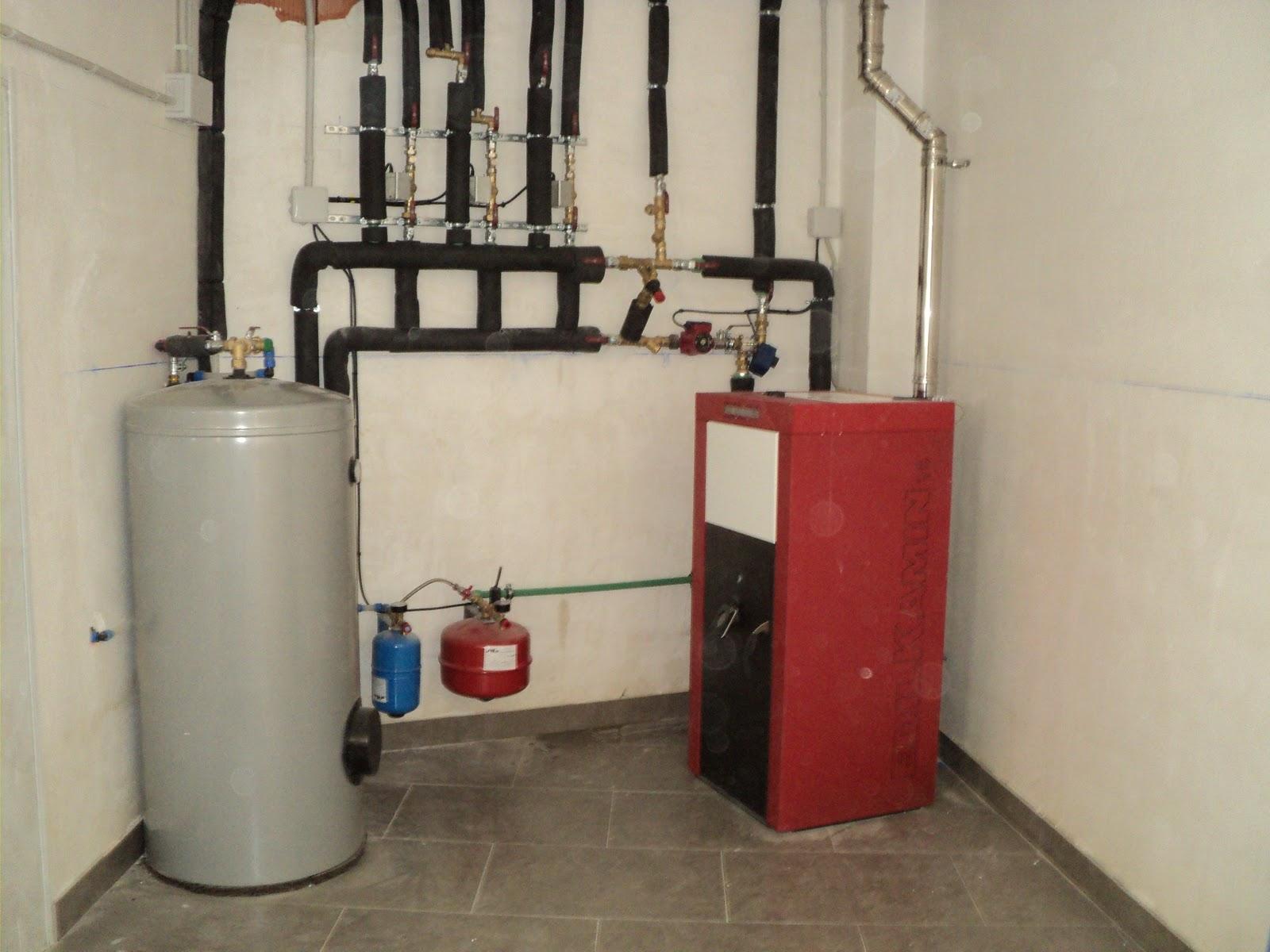 Entramados soluciones bioclim ticas instalaci n de - Caldera de pellets y lena ...