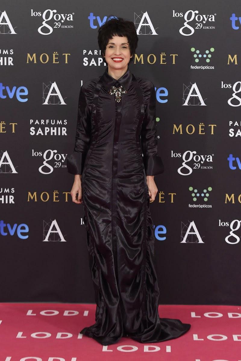 Premios Goya 2015 - Adriana Ozores, de Devota y Lomba