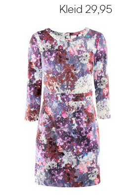 Flower Print Dress H&M Fall 2012 Collection