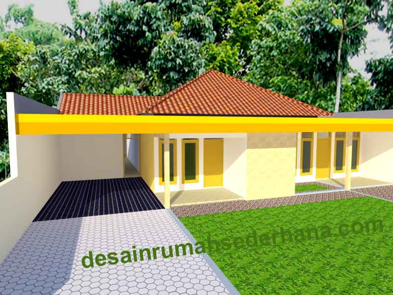 Desain Rumah Sederhana Contoh Gambar Type