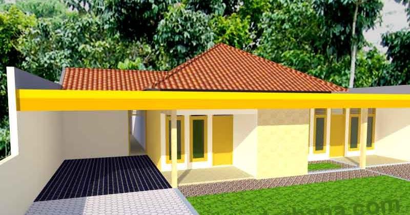 desain rumah sederhana type 300 tanah 450 m2 desain