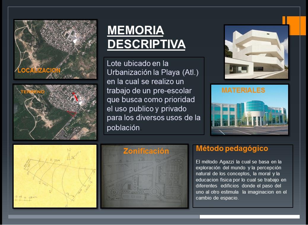 Arquitectura ii for Memoria descriptiva arquitectura