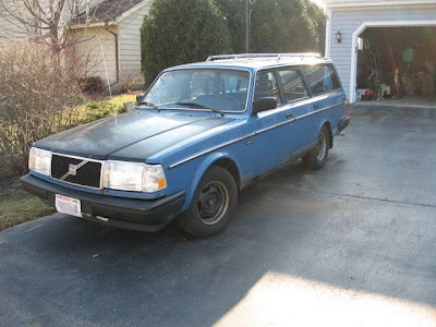 i am selling a volvo 1982, i am unsure of the model. used to be 4wd but transmission is garbage so power only goes to front right wheel. power steering fluid leaks into gas tank and exhaust fumes have started coming through air vents, so dont use the ac or heat and keep the windows down when you drive. rear suspension shot through the trunk about 7 years ago, and car has virtually no wheel alignment. Gas pedal sticks all the time so be careful. Used to be 5 speed manual but now only gears 2 and 5 work. reverse doesnt work, needs to be put into neutral and rolled. brakes only work on the right side, hand brake doesnt stay up you have to jam a screwdriver between it when pulled. body is rusted like crazy.