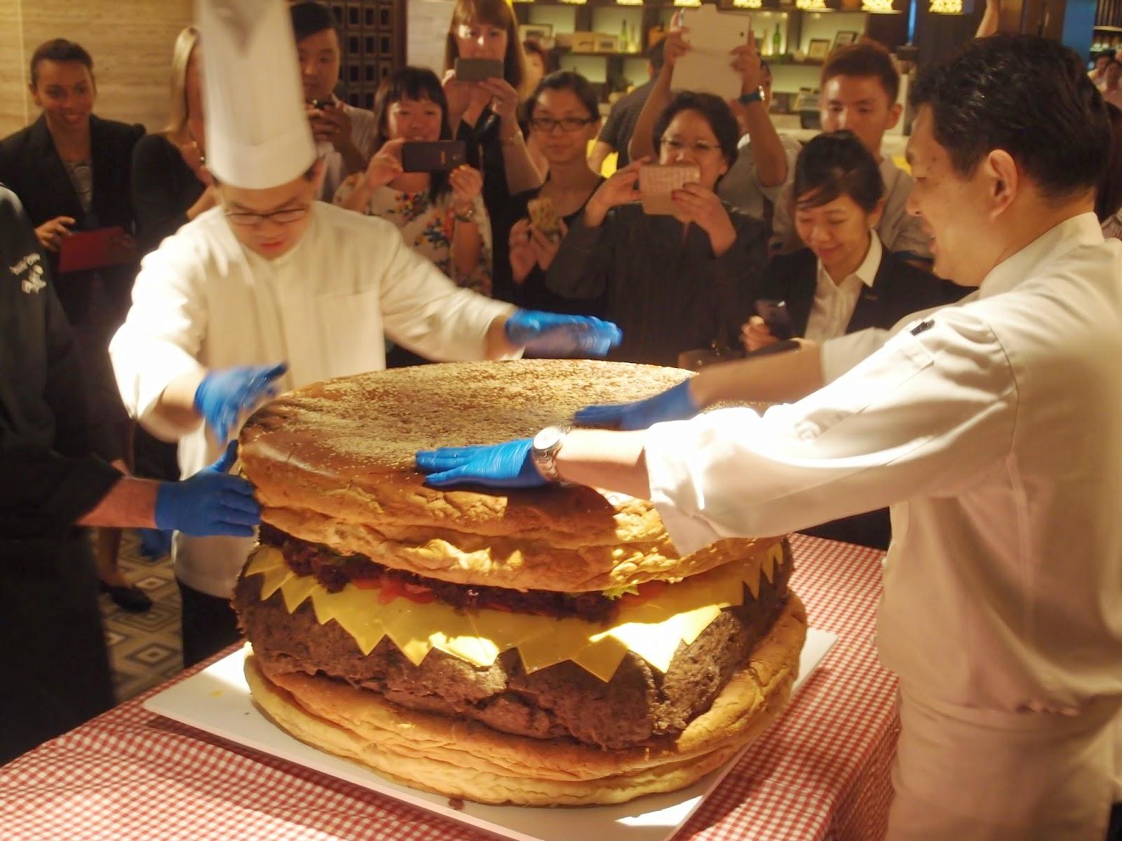 新加坡最大汉堡包