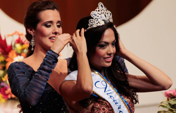 Miss Nicaragua 2012 winner Farah Eslaquit Cano