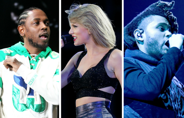 Leading  Grammy nominations for 2016