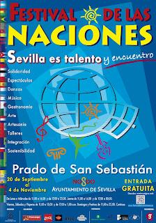 Festival de las Naciones - Sevilla 2012 - Cartel anunciador