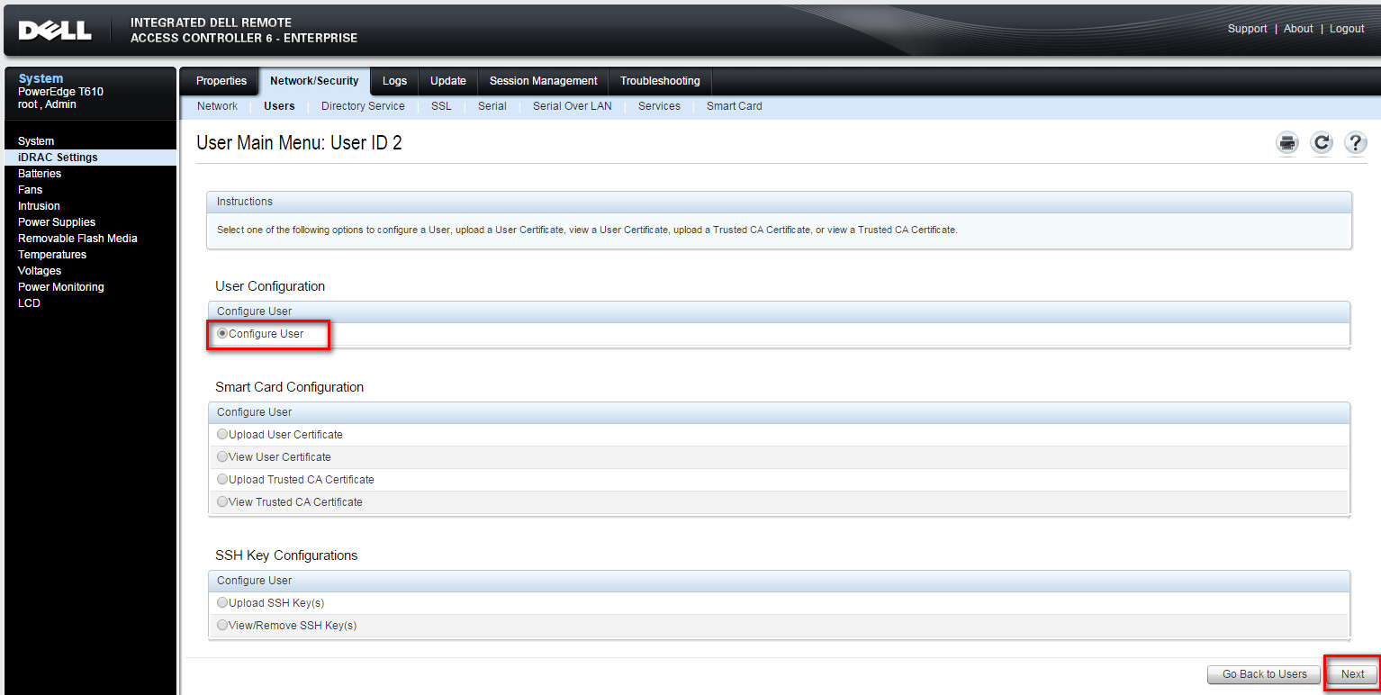 Dell Idrac 6 Default Username And Password Dell Idrac 6 Change The
