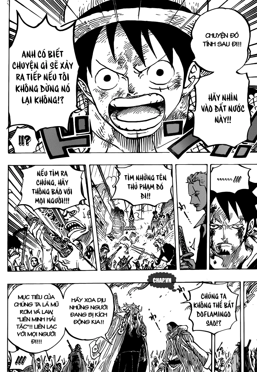 One Piece Chapter 746: Những ngôi sao 017