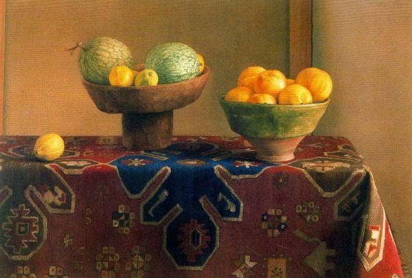 Claudio bravo camus hyperrealist painter tutt 39 art for Alfombras persas chile