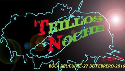 15k Trillos Noche (trail run, Boca del Cufré, San José, 27/feb/2016)
