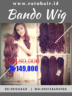 BIG SALE BANDO WIG