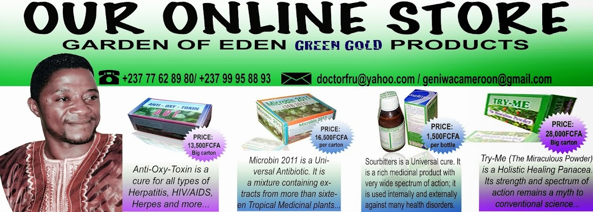 GARDEN OF EDEN GREEN GOLD PRODUCTS