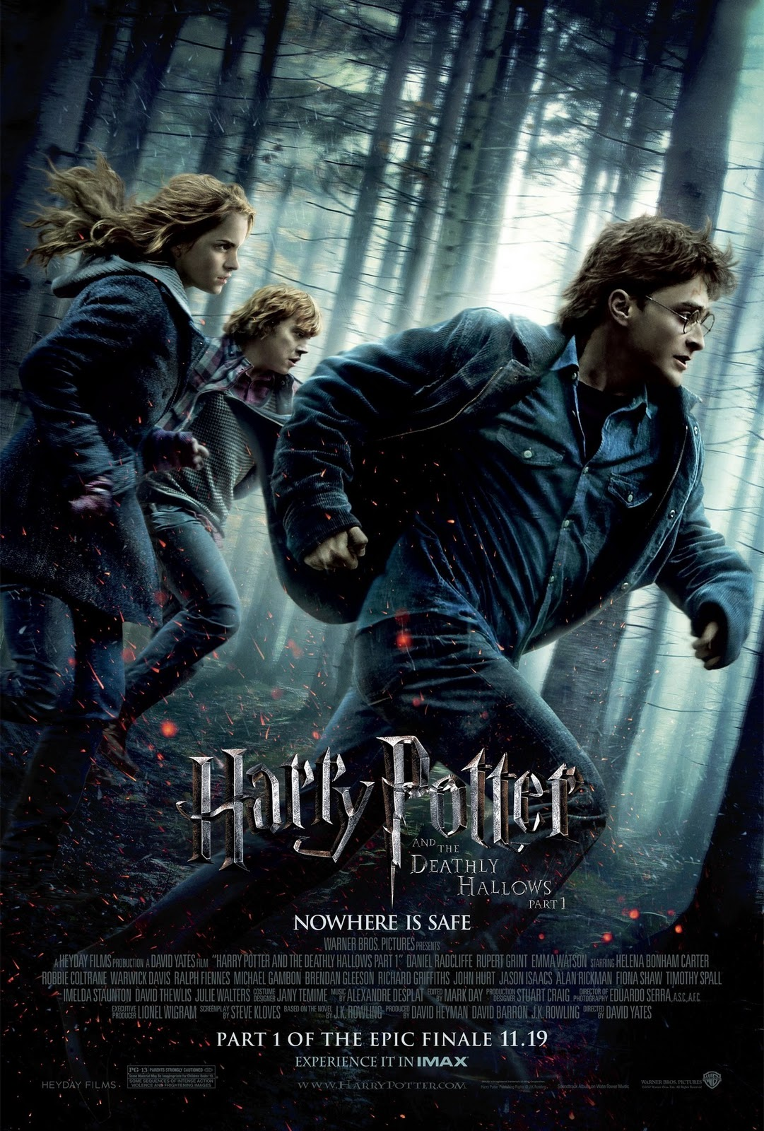 Harry Potter and the Deathly Hallows: Part I - Movies Maniac