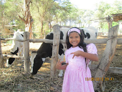Mabel en la facultad de zootecnia de la Universidad Nacional de Piura.