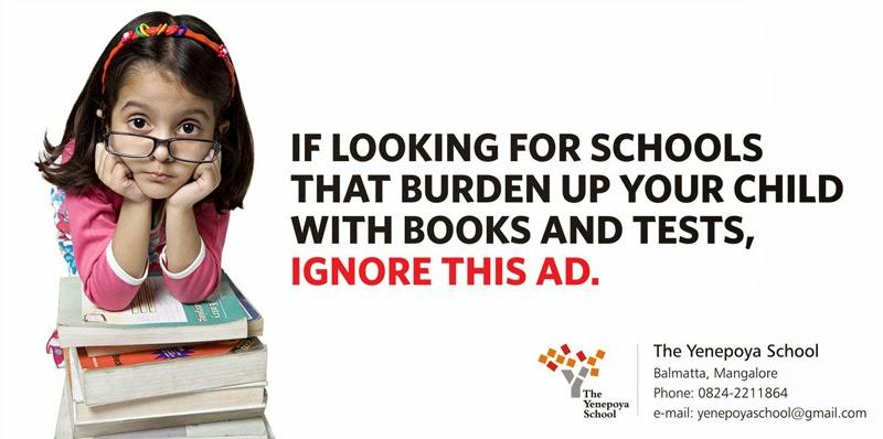 print advertisement idea  design  creative  school print ads