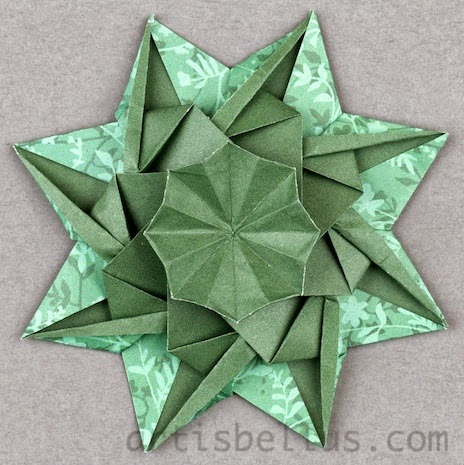 Origami Decorations: Rosette