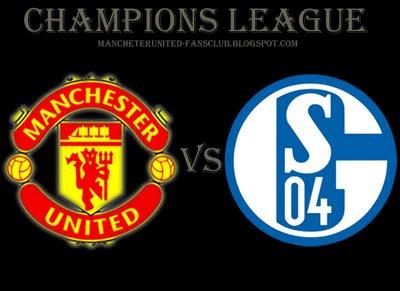 Manchester United vs Schalke 04 champions League semifinal