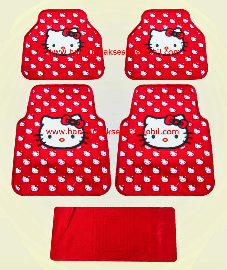 Karpet Hello Kitty Lux Merah