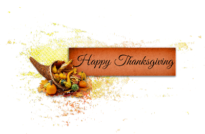 Thanksgiving Digital Scrapbook Freebies