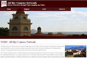 NMSU All Sky Camera Network