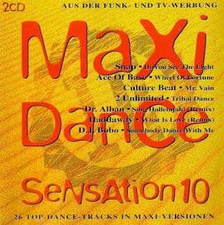 Maxi Dance Sensation vol.10 (1993)