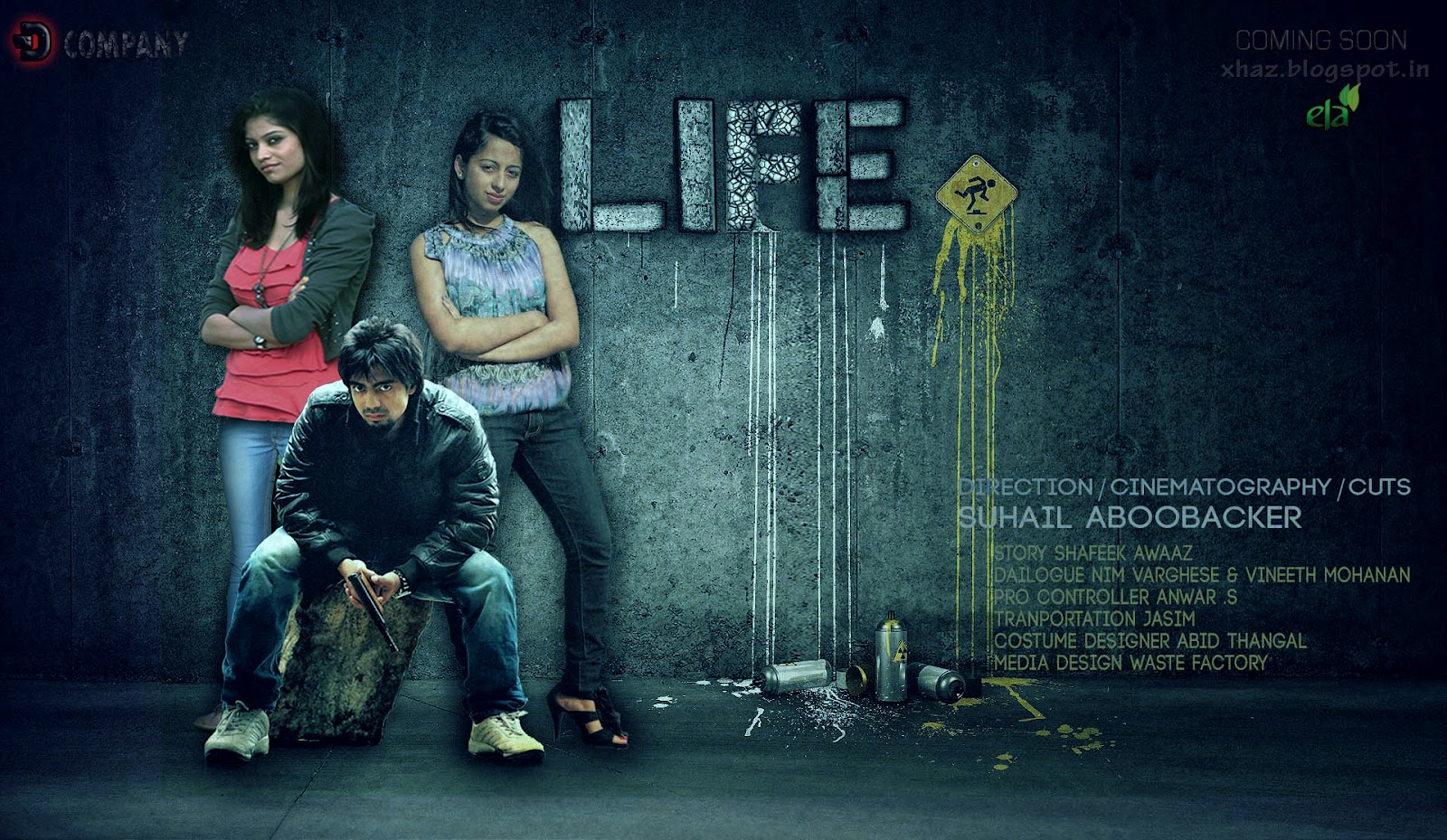 Haz Media Life A Short Film Poster 2