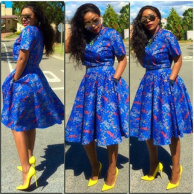 Welcome to Slamabit: Beautiful Ankara Long Gown Style For Ladies