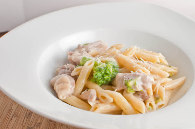 ... ! Likes It, So It MUST Be Good.: Shortcut Chicken & Broccoli Alfredo