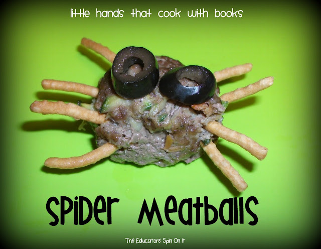 Spider Meatball Recipe for Kids to make for Halloween